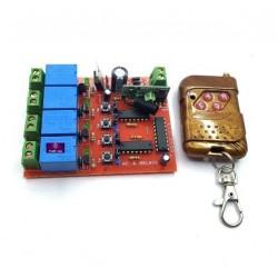 Board Điều Khiển Từ Xa 12V 4 Lệnh RF04-12V