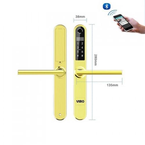 Khóa cửa xingfa Viro Smartlock 5 in1 VR-31A, đại lý, phân phối,mua bán, lắp đặt giá rẻ