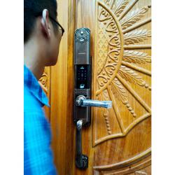 Khóa Cổ Điển vân tay VIROSMART lock 4 in1 VR-HB90031