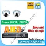 Lắp đặt camera quan sát trọn bộ 2 camera Vantech