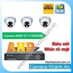 Lắp đặt camera quan sát trọn bộ 3 camera Vantech