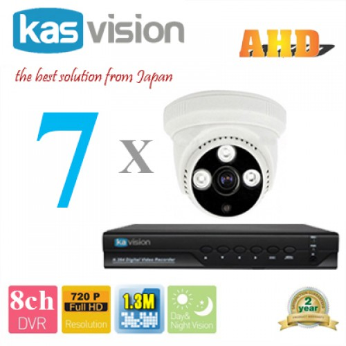 Bộ trọn gói 7 camera tại tp hcm, đại lý, phân phối,mua bán, lắp đặt giá rẻ
