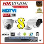 Lắp đặt camera trọn bộ 8 camera 3.0 M giá rẻ tại Tp HCM