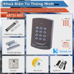 Bộ khóa Cổng Soyal 721 kiểm soát bằng mật mã thẻ từ