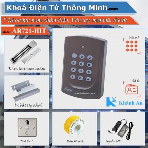 Bộ kiểm soát cửa ra vào Soyal 721 lắp cửa Gỗ, đại lý, phân phối,mua bán, lắp đặt giá rẻ