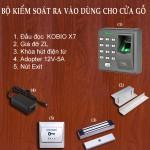 Bộ khóa Cổng X7 kiểm soát bằng Vân tay mật mã thẻ từ