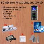Bộ kiểm soát cửa vân tay thẻ từ SF200 cho cửa Gỗ