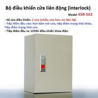 Tủ trung tâm điều khiển liên động 4 cửa KSR-504 (interlock)
