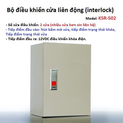 Tủ trung tâm điều khiển liên động 4 cửa KSR-504 (interlock), đại lý, phân phối,mua bán, lắp đặt giá rẻ