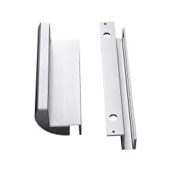 Bộ bát gá khóa hít nam châm điện từ MBK-280GZ (lắp cửa kính)
