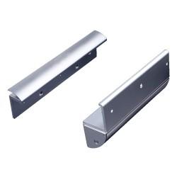 Bộ bát gá khóa hít nam châm điện từ MBK-280ZLC (lắp cửa kính)