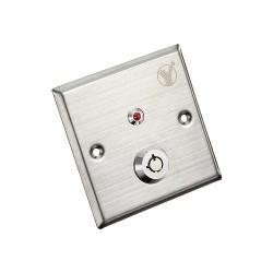 Nút Exit bấm mở cửa dùng chìa cơ YKS-850LM