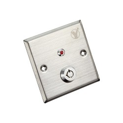 Nút Exit bấm mở cửa dùng chìa cơ YKS-850LS