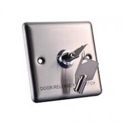 Nút Exit bấm mở cửa dùng chìa cơ YKS-850S