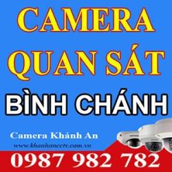 Lắp đặt Camera tại Bình Chánh - Tp HCM