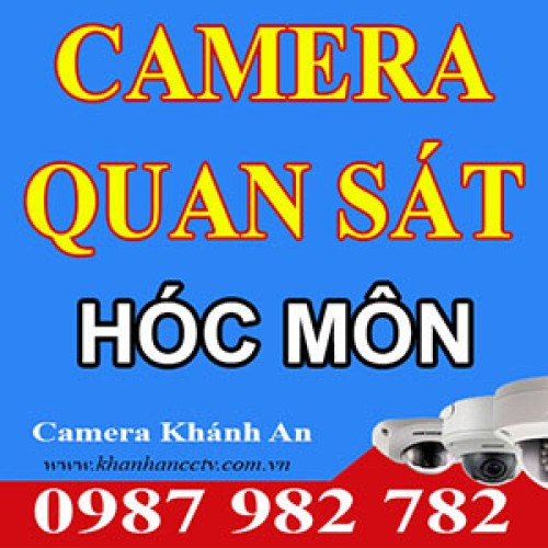 Lắp Đặt Camera Quan Sát Tại Hóc Môn - Tp HCM