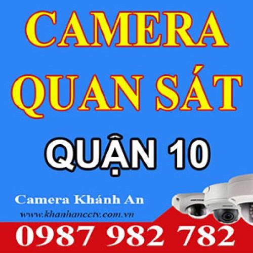 Lắp đặt Camera tại quận 10 - Tp HCM