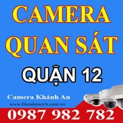 Lắp đặt Camera tại quận 12 - Tp HCM