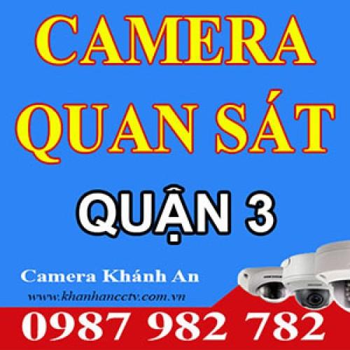 Lắp đặt Camera tại quận 3 - Tp HCM