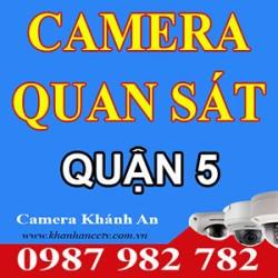 Lắp đặt Camera tại quận 5 - Tp HCM