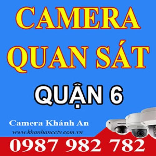 Lắp đặt Camera tại quận 6 - Tp HCM