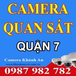 Lắp đặt camera quan sát quận 7 - Tp HCM