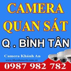 Lắp đặt Camera quan sát ở tại quận Bình Tân - Tp HCM