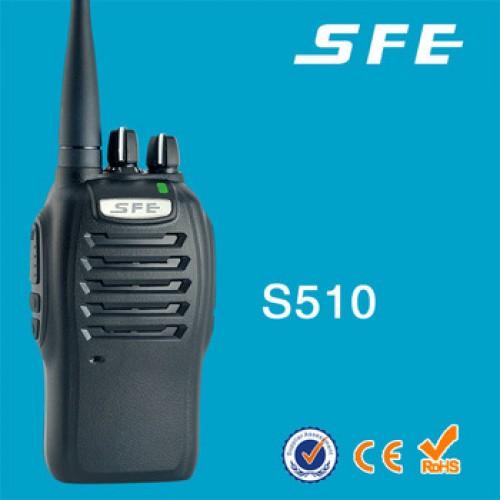 Máy bộ đàm cầm tay SFE S510, đại lý, phân phối,mua bán, lắp đặt giá rẻ