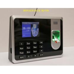 Máy chấm công vân tay  thẻ cảm ứng ronald jack RJ-550