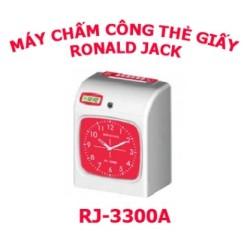 Máy chấm công thẻ giấy Ronald Jack RJ-3300A / RJ-3300N