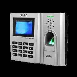 Máy chấm công vân tay  thẻ cảm ứng ZKTECO U260-C