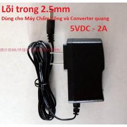 Bộ nguồn Adapter dùng cho máy chấm công vân tay 5V 2A