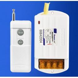 Công tắc điều khiển từ xa bằng remote Honest HT-6220KGD 40A 100m-1KM (xám)