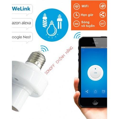 Chuôi đèn WiFi thông minh Sonoff SLAMPER, đại lý, phân phối,mua bán, lắp đặt giá rẻ