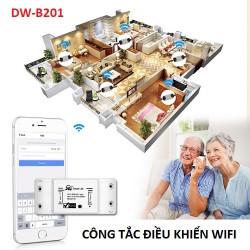 Công tắc điều khiển từ xa Smart Control Wifi DW-B201