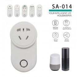 Ổ cắm điều khiển từ xa bằng WiFi 3G thông minh SA-014