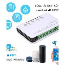 Công tắc WiFi 4 cổng eWeLink E4CHPRO