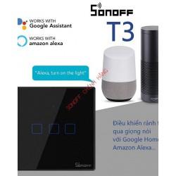 Công tắc WiFi RF cảm ứng T3 1 cổng SONOFF T3US1C (chữ nhật)