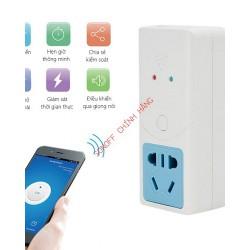 Ổ cắm điều khiển từ xa bằng WiFi kết hợp đầu dò nhiệt độ SONOFF S22