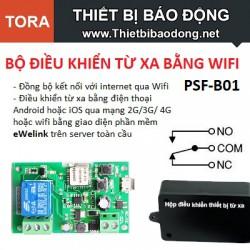 Mạch điều khiển từ xa bằng wifi wifi PSF-B01