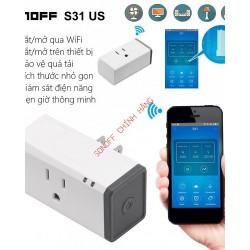 Ổ cắm WiFi đo điện năng tiêu thụ SONOFF S31 US