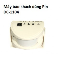 Báo Khách Dùng PIN DC-1104