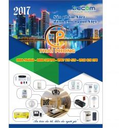 Bảng giá thiết bị điện thông minh Decom