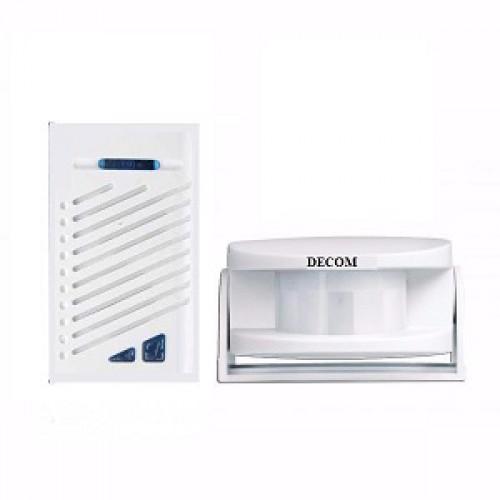 Báo khách + chuông cửa không dây DC-287B, đại lý, phân phối,mua bán, lắp đặt giá rẻ