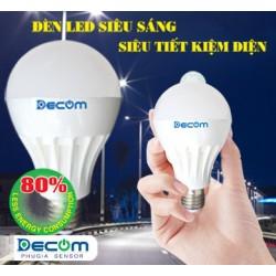 Bóng đèn LED cảm ứng hồng ngoại DC-SENSOR 7W