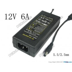 Adapter LY-1206 12V 6A 70W