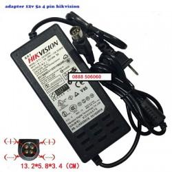 Nguồn đầu ghi camera 12V 5A 4 pin
