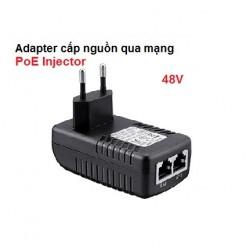 Adapter cấp nguồn qua mạng PoE Injector 48V cho camera, IP phone