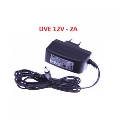 Nguồn Adapter DVE 12V/2A dùng cho camera, đại lý, phân phối,mua bán, lắp đặt giá rẻ