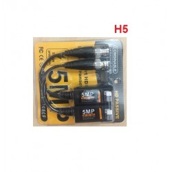 Jack video balun H5 5MP loại nhấn